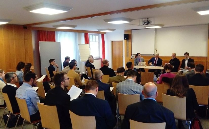 Bishop Borys Gudziak participated in the International Seminar on Education and Formation in Vienna